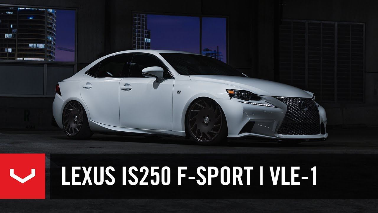 Lexus IS 250 FSport  The Road Home  20 Vossen VLE1 4K