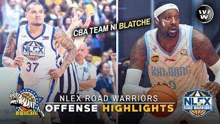 NLEX, Tinalo rin ang Team ni Andray Blatche sa CBA | NLEX' Highlights | PBA vs CBA