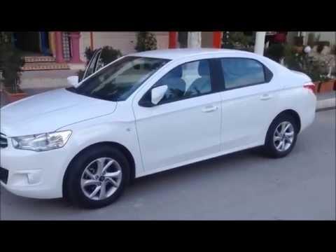 location voiture Citroën C-Elysée avec teamcar tunisie