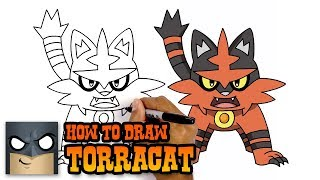 How to Draw Torracat | Pokemon | Awesome Step-by-Step Tutorial