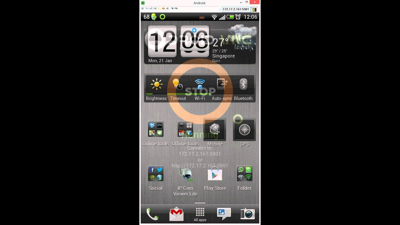 HowTo Control Android Phone from a PC