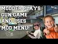 Black Ops 2 Modder Plays GUN GAME AND USES A MOD MENU #1 (BO2 MODDED GUN GAME!)
