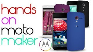 Moto X - Hands On MotoMaker