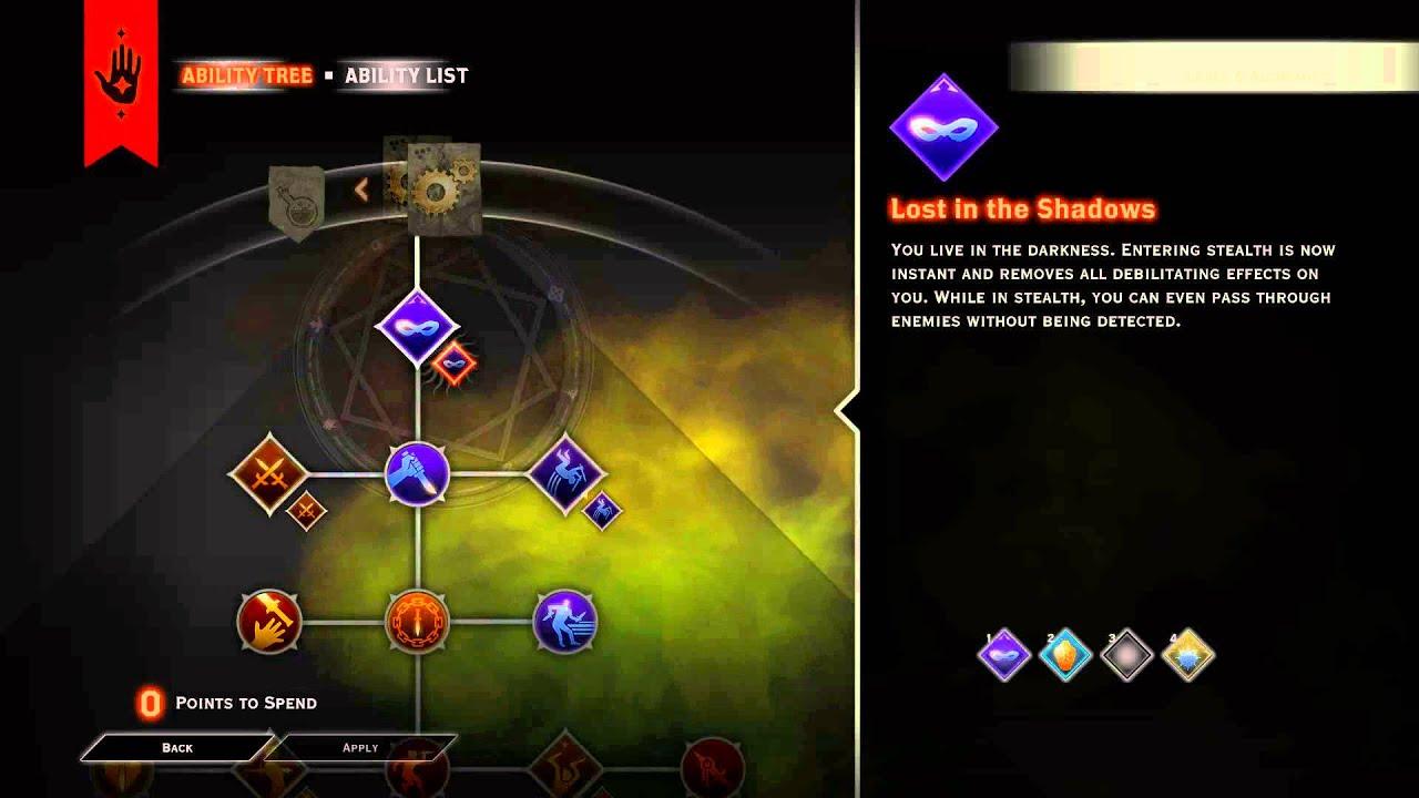 Dragon Age Inquisition More Skill Slots