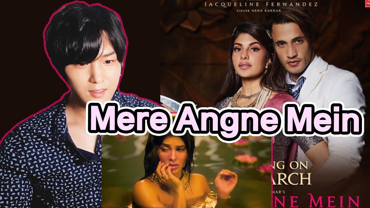 Korean Reacts to Amazing Jacqueline Fernandez😍   【Mere Angne Mein】 Reaction   Neha K, Raja H