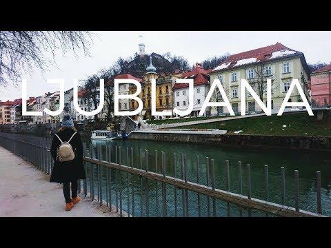 Why you need to visit Ljubljana Slovenia || Ljubljana Slovenija travel vlog