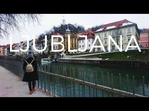 Why you need to visit Ljubljana Slovenia || Ljubljana Slovenija travel vlog