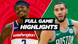 ... the celtics beat wizards 116 - 107.check out these extended nba highlights all season long!sourc...