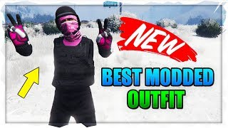 BEST MODDED OUTFITS GTA 5 - NEW BEST PINK MODDED OUTFIT IN GTA 5 1.46! (Best RnG Modded Outfits)