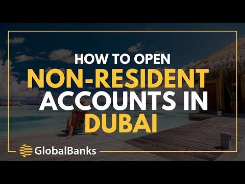Open a Non-Resident Bank Account in Dubai