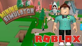 ADAM LAZER S-LAHI ALMITM YA !! / Roblox Simulador de Minería / Roblox Simulador