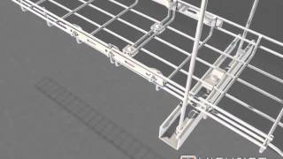 how to install cable tray | how to install cable | cable installation |