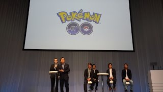 Pokémon GO Press Conference