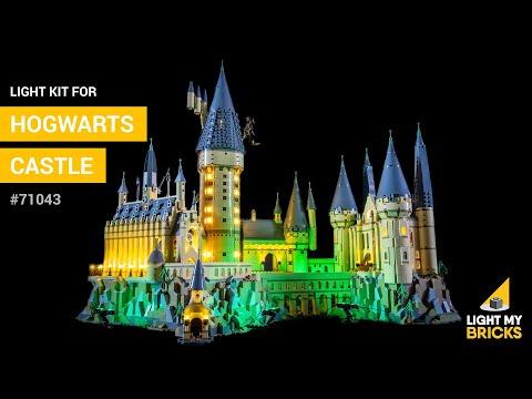 LEGO Hogwarts Castle #71043 - Light Kit - Light My Bricks