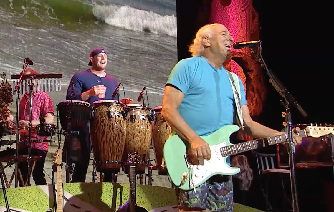 Jimmy Buffett and the Coral Reefer Band sailing into Oklahoma
