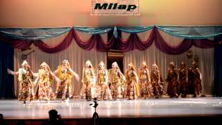 Holiya me ude gulaal - Rajasthani Folk Dance- ICS Milap 2013