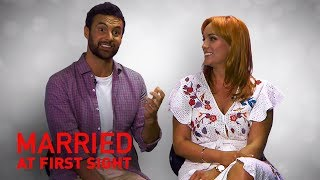 Exclusive: Loved-up Jules and Cam's wedding day special   MAFS 2019