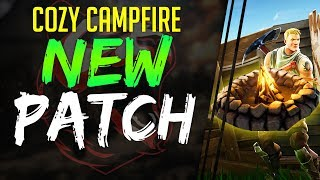 NEW COZY CAMPFIRE UPDATE | Boggie Bomb NERF FortNite Battle Royale NEW PATCH NOTES V2.10