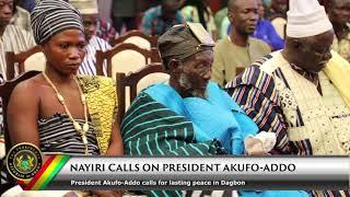 Nayiri Calls on President Akufo-Addo