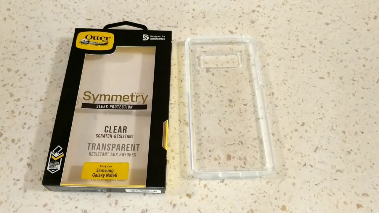 new styles e26ec bb73f Samsung Galaxy Note 8 Otterbox Symmetry Clear Case