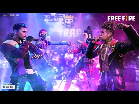 Free Fire Live Ao VIVO - Level UP 73 | Squad Rank Push To Global Heroic & GrandMaster