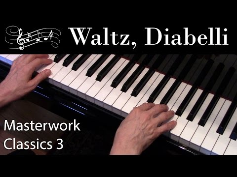 Waltz, Diabelli (Early-Intermediate Piano Solo) Masterwork Classics Level 3
