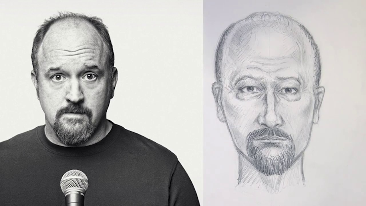 Watch Nypd S Incredible Sketch Artist Draw Louis C K Youtube