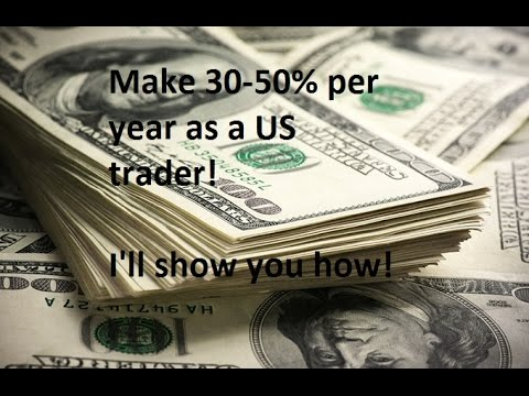 30-50% profit as a US forex trader at OANDA. My US hedge for