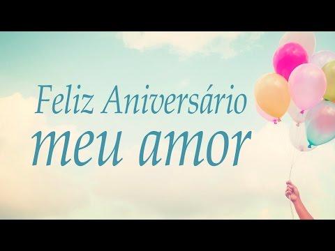 Feliz aniversário, meu amor!