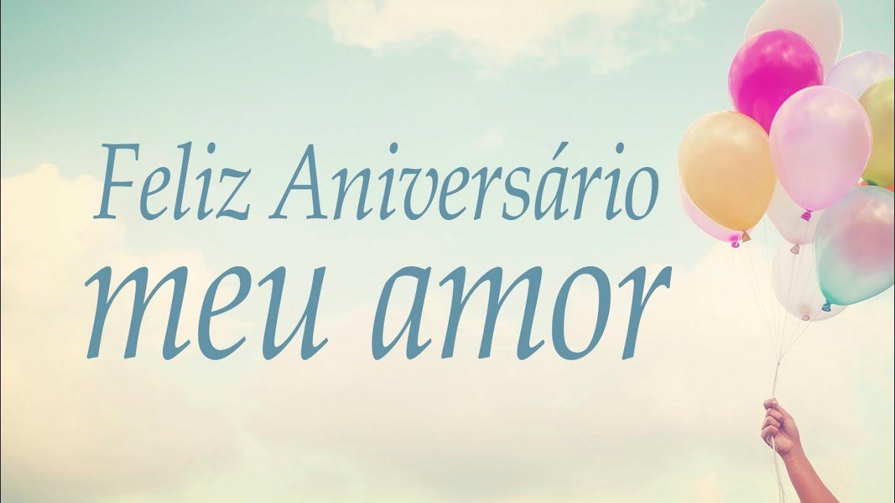 Feliz Aniversário Mensagem: Feliz Aniversário, Meu Amor!