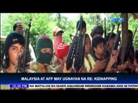 AFP coordinates with Malaysia regarding kidnapping