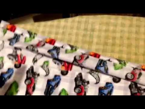 How to make an easy toy car roll to carry Matchbox Cars.