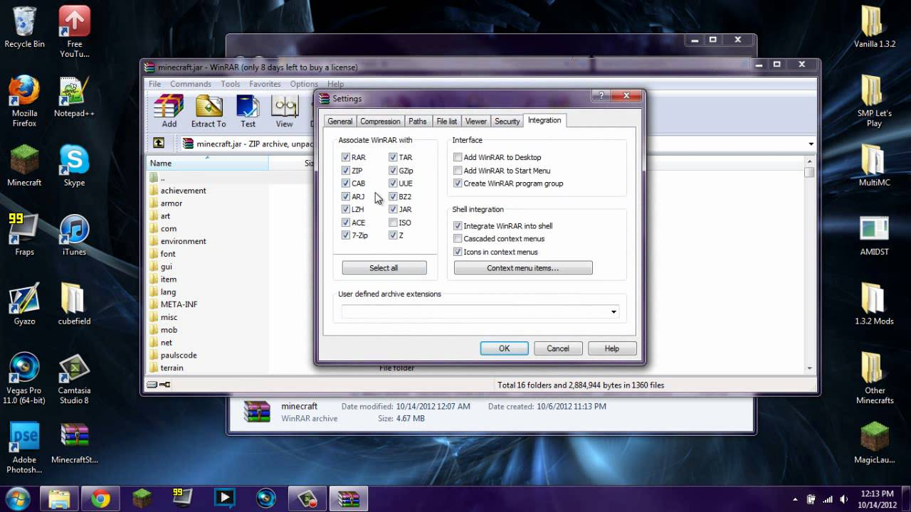 how to open a winrar file with java