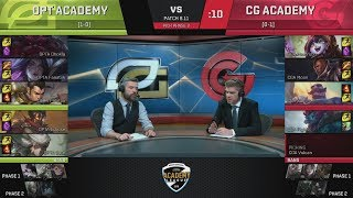 Video OTPA (Fanatiik Xin Zhao) VS CGA (Piglet Lucian) Highlights - 2018 NA Academy Summer W1 download MP3, 3GP, MP4, WEBM, AVI, FLV Juni 2018