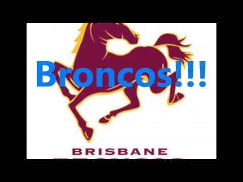 Brisbane Broncos (Short) theme song (Lyrics)