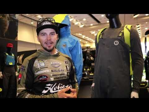 Mustang Survival Taku Suit At 2019 Bassmaster Classic