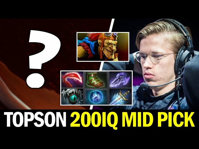 TOPSON MID Unexpected Pick vs BATRIDER — Situational Build