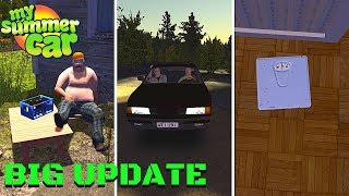 UNCLE - NEW CAR - WEIGHT SCALE - NEW STORY and MORE - My Summer Car Update #1