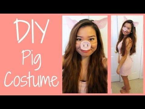 Olivia The Pig Costume Pattern