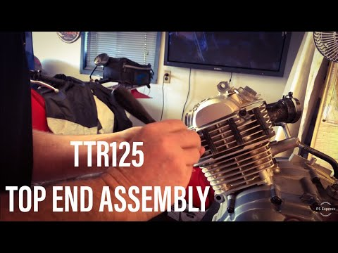 ENGINE TOP END ASSEMBLY: Yamaha TTR125 Part Six