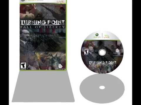 Turning Point: Fall of Liberty Poster and Xbox 360 Graphic