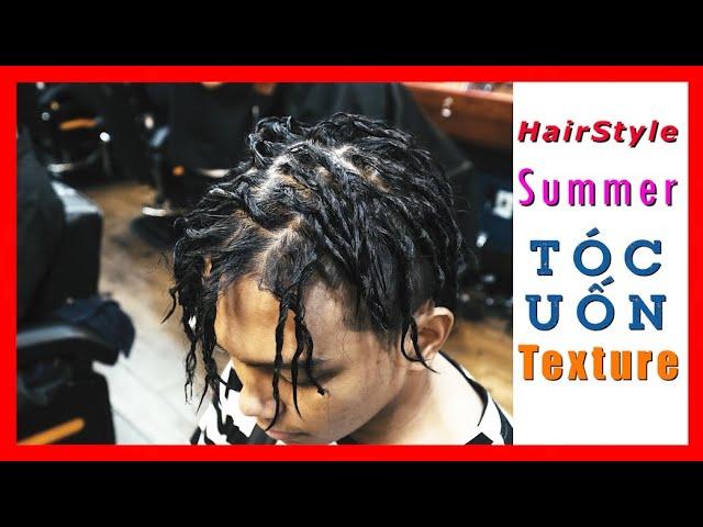 💈 Xu Hướng Tóc Đẹp Hè | Kiểu Tóc Uốn Giấy Bạc Kỳ Công | Uốn Texture | Barbershop Vũ Trí