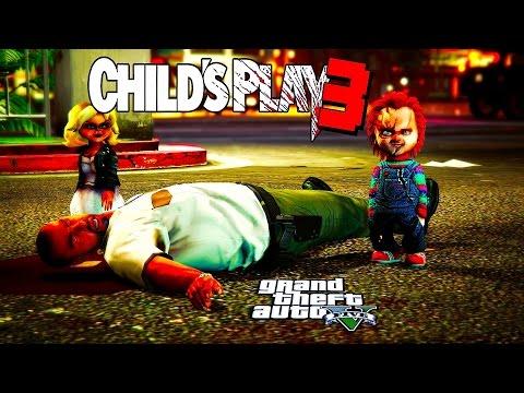 GTA 5 - CHUCKY CHILD'S PLAY PART 3 ( BRIDE OF CHUCKY)
