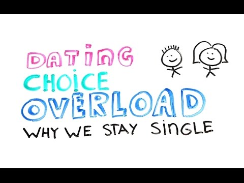 Dating Choice Overload - Why We Are Single | Science Of Human Behavior |  Psychology | Zillionist