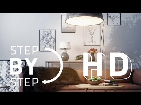 Advanced Post Production Techniques in Photoshop - Interior Scene