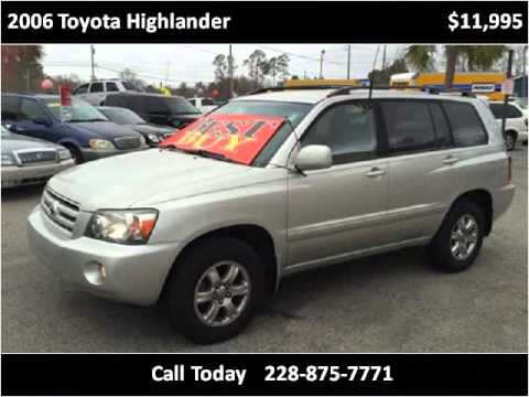2006 Toyota Highlander Used Cars Ocean Springs MS