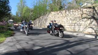2013 Mountain Man Memorial March Gold Star Family Motorcycle Fun Ride