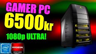 byg en gamer pc til 6500kr kaby lake core i5 rx 480 m 2 ssd perfekt til 1080p ultra gaming