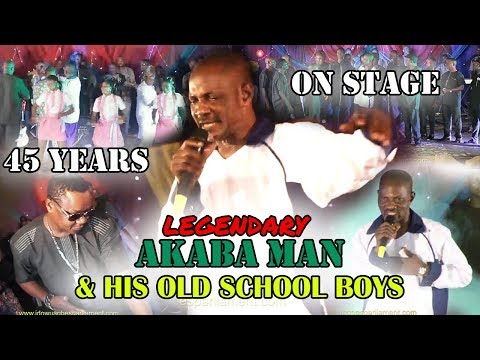 AKABA MAN & HIS OLD SCHOOL BOYS 45 YEARS ON STAGE - BENIN MUSIC LIVE ON STAGE