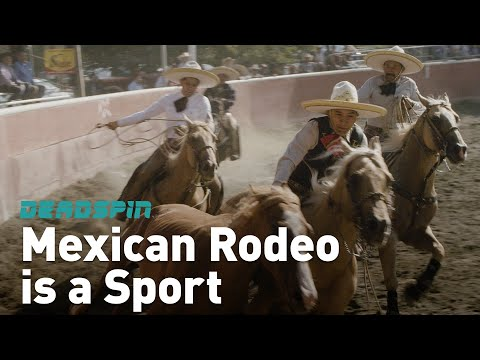 Mexican Rodeo is a Sport